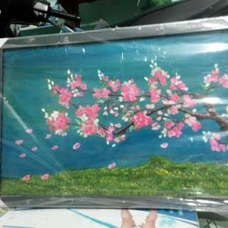 tranh trừu tượng hoa đào của convoicon277 tại Hồ Chí Minh - 2370554
