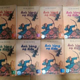 Truyện Chưởng Kim Dung - Anh Hùng Xạ Điêu - Sách Cũ của hang_anh tại Gần ngã tư cầu Bông, Quận Bình Thạnh, Hồ Chí Minh - 2906040