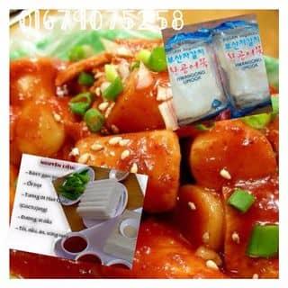 Nguyên liệu đồ ăn Hàn Quốc