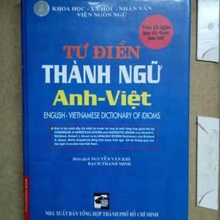 Từ điển thành ngữ Anh Việt của buitai25 tại Hồ Chí Minh - 3143192