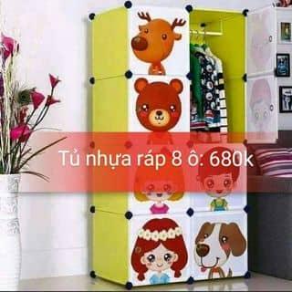 Tủ nhựa lắp ráp 8 ô của buctranhthieunet tại Khánh Hòa - 1472884