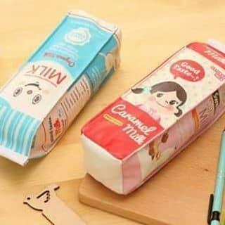 Túi đựng bút siêu kute hình hộp sữa của laudau tại Hòa Bình - 2628323