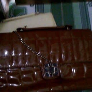 Túi sách nâu đóng khóa dây của kem.159 tại Quảng Ninh - 2483550