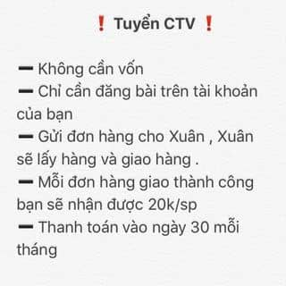 Tuyển Sỉ + Ctv của kimxuan24 tại Hồ Chí Minh - 2902241