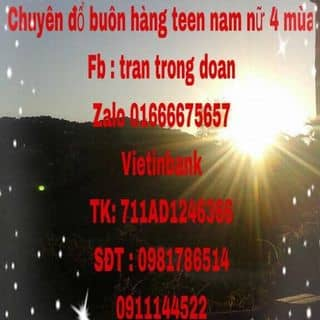 Tuyển sỉ giá tốt của doantrantrong tại Nam Định - 926314