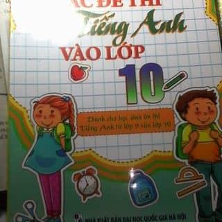 Tuyển tập các đề thi Tiếng Anh lớp 10 của yooyoo2 tại Bình Thuận - 1056752