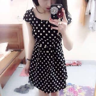 váy đen chấm bi trắng của pengocanh tại Nam Định - 2645283