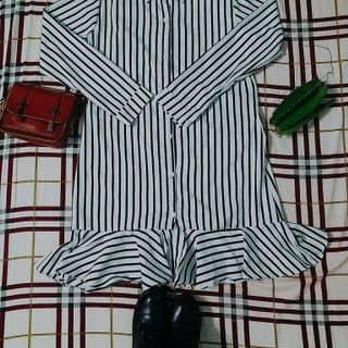 Váy đuôi cá sọc đen trắng của mingming8 tại Bình Phước - 2586331