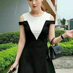 váy hở vai của MsChen tại Lotteria - Xã Đàn - 1419299