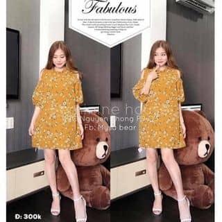 váy khoét vai hoa của nguyendieuhuong8 tại Nam Định - 2665967