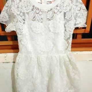 Váy ren trắng 2 lớp Hàng QC  của mydung98 tại Kon Tum - 384804