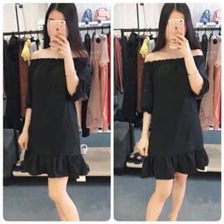 váy trễ vai, hàng lụa dày, đẹp lắm nha 😊😊 của kalikutebabygirl tại Thừa Thiên Huế - 2925006