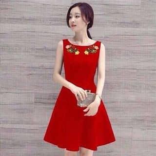 Váy xòe hoa thêu của truonglanphuong tại Đắk Lắk - 2069836