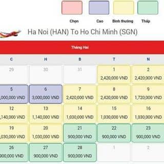 Vé máy bay của phannho1 tại Đà Nẵng - 2262411