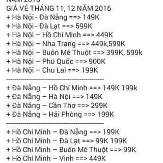 Vé máy bay.. của ngathanh92 tại Tây Ninh - 1767490