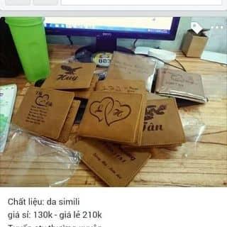 ví in chữ theo yêu cầu của thanhtrangthanh tại Tiền Giang - 3409600