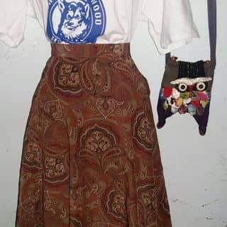 Vitage_chan váy hoa trang nhã #89k áo ful trắng #80k của venduongla tại Bình Phước - 3212904
