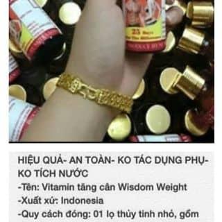 🍀💪 VITAMIN TĂNG CÂN WISDOM WEIGHT 💪🍀 🎁🎁 T của hahoai3 tại Tuyên Quang - 1856120