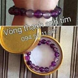 * VÒNG ĐÁ THẠCH ANH TÍM * của emchinhanmo tại Nam Định - 1776927