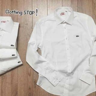 🐊 WHITE LACHEMIST  ⚠️100% cotton :3 lụa là rất là mát  ⚠️ Chống nhăn hoàn toàn  ⚠️ Dòng live - slimfit mặc rất là đẹp   ⚠️ Contact: 01237961988 của buigiao2 tại Hòa Bình - 2970796