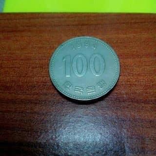 Xu hàn quốc ( 100 won ) của gioanhnguyen tại 24 Nguyễn Huệ, Thành Phố Qui Nhơn, Bình Định - 1546725