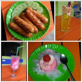 Xúc xích Đức, Soda Ý, đá bào, kem pudding của anmy12 tại 70 Trần Phú, TT Chí Thạnh, Huyện Tuy An, Phú Yên - 1076593