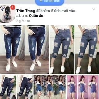 Yếm bò, baggy rách của trang6383 tại Shop online, Huyện Xuân Trường, Nam Định - 2673070