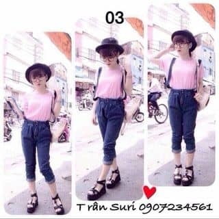 Yếm jean của ghr3j2001 tại Shop online, Huyện Đắk Mil, Đắk Nông - 2425647