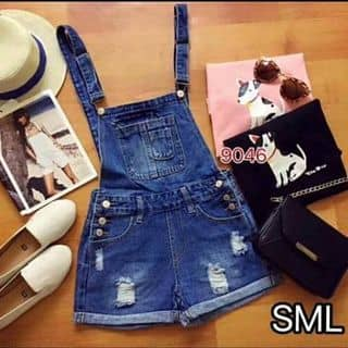 Yếm jeans ngắn của nguyenletuyen tại Tiền Giang - 2150862