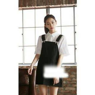 Yếm váy đen kaki của thaochi31 tại Shop online, Thành Phố Sơn La, Sơn La - 3874375